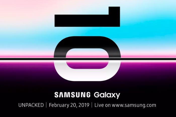 Samsung Galaxy S10 получил официальную дату премьеры