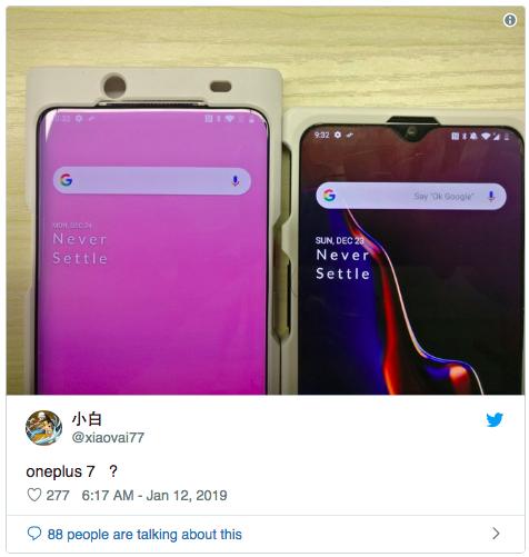Фото прототипов OnePlus 7 – фото 2