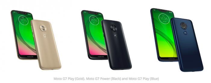 Семейство Moto G7: рендеры и ценники – фото 1