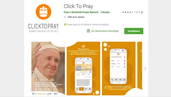 У Папы Римского появилось свое приложение: кликни и молись – фото 2