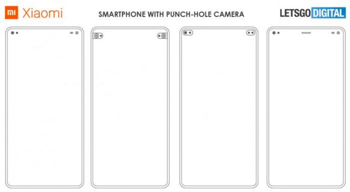 Xiaomi переосмысливает вырез под фронталку в новом патенте – фото 2