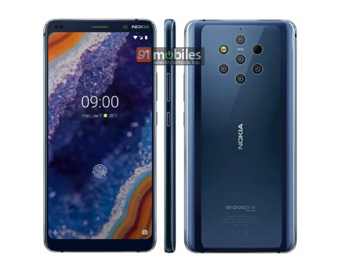 Опубликовали пресс-рендер Nokia 9 PureView – фото 2