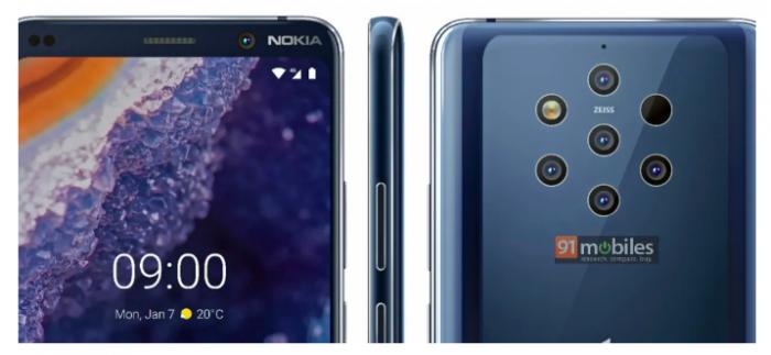 Опубликовали пресс-рендер Nokia 9 PureView – фото 1