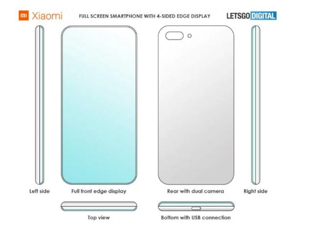 Дизайн полноэкранного смартфона Xiaomi и без кнопок теперь запатентован – фото 1