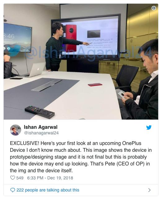 OnePlus покажет на MWC 2019 прототип 5G смартфона – фото 3