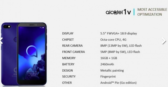 Alcatel привезет на MWC 2019 сразу шесть бюджетников – фото 1