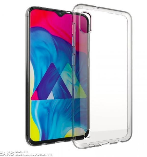 Изображения Samsung Galaxy A10 показали его дизайн – фото 1