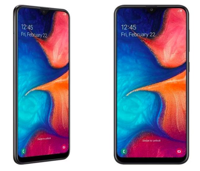 Представлен Samsung Galaxy A20 с Infinity-V экраном и батарейкой на 4000 мАч – фото 1