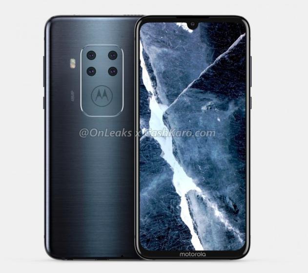 Рендеры смартфона Motorola c квадрокамерой – фото 2
