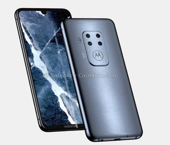 Рендеры смартфона Motorola c квадрокамерой – фото 3