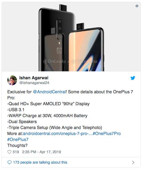 Больше подробностей о OnePlus 7 Pro – фото 2