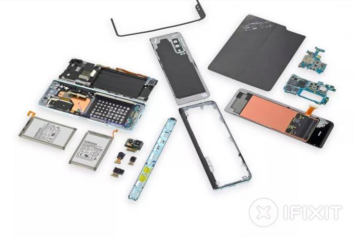 iFixit изучил внутренности Samsung Galaxy Fold и назвал причины его выхода из строя – фото 3