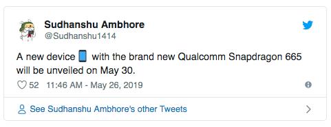 Названа дата анонса первого смартфона с Snapdragon 665. Meizu 16Xs? – фото 2