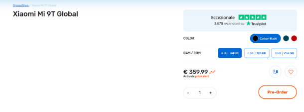 Европейский ритейлер озвучил цены на Xiaomi Mi 9T (Redmi K20) – фото 1