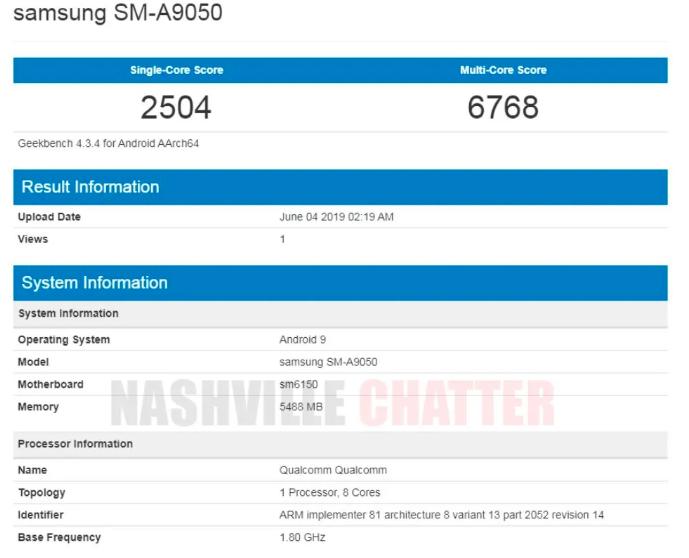 Предполагаемый Samsung Galaxy A90 замечен в Geekbench – фото 1