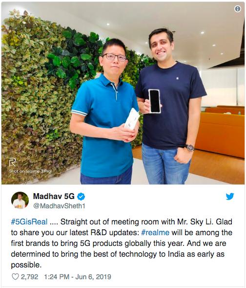 Realme и Redmi готовят 5G-смартфоны – фото 2
