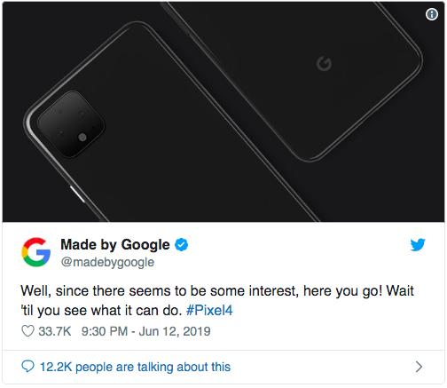 Официальное промо-изображение Google Pixel 4 – фото 2