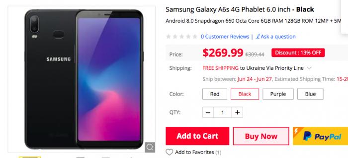 Флеш-распродажа на Gearbest: Samsung Galaxy A60 и другие устройства – фото 2
