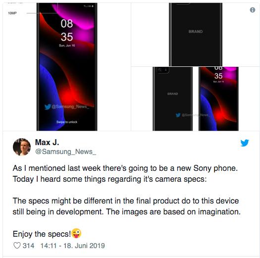 Подробности о смартфоне Sony с восемью камерами – фото 3