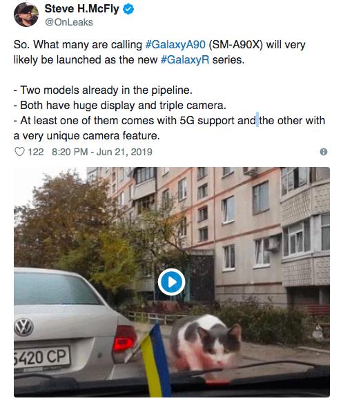 Samsung готовит линейку смартфонов R. Galaxy A90 будет частью новой серии – фото 2