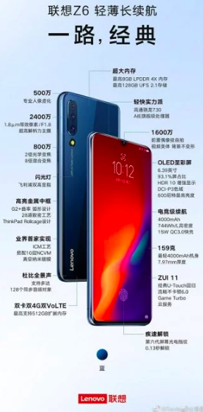 Компания показала и рассказала о характеристиках Lenovo Z6 – фото 2