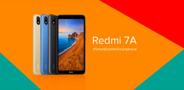 В Индии представлен Redmi 7A – фото 1