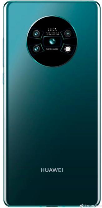 Показали Huawei Mate 30 с необычной камерой – фото 1