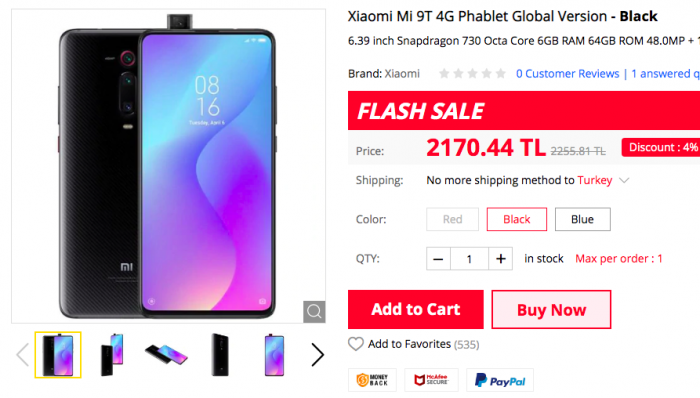 Xiaomi Mi 9, Xiaomi Mi 9T, Redmi Note 7 и другие смартфоны по скидкам на Gearbest – фото 1