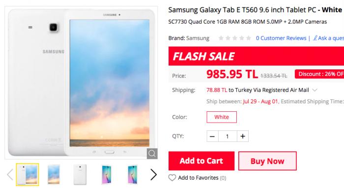 Samsung Galaxy Tab E T560, Chuwi AeroBook, смартфоны Xiaomi и другие устройства по скидкам на Gearbest – фото 1