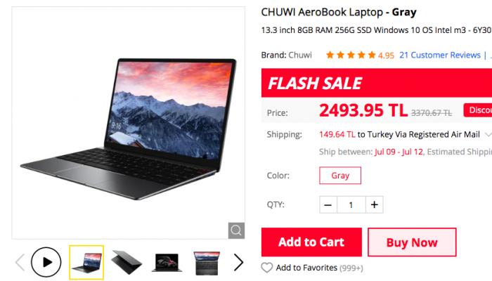 Samsung Galaxy Tab E T560, Chuwi AeroBook, смартфоны Xiaomi и другие устройства по скидкам на Gearbest – фото 2