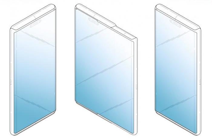 Концепт раздвижного смартфона: возможный дизайн Samsung Galaxy S11 – фото 1