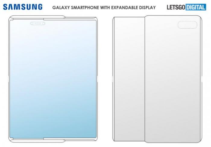 Концепт раздвижного смартфона: возможный дизайн Samsung Galaxy S11 – фото 2