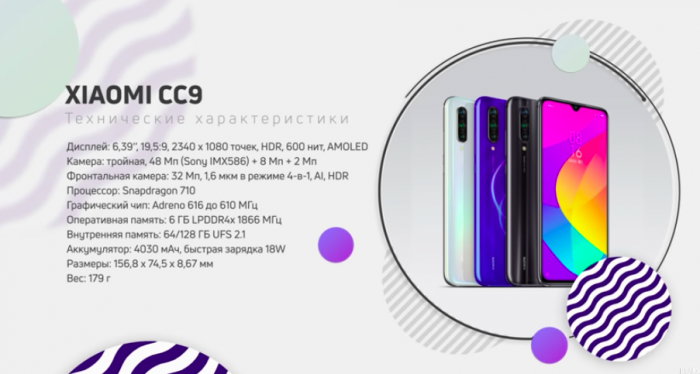процессор Xiaomi CC9