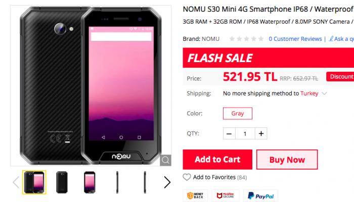 цена Nomu S30 mini