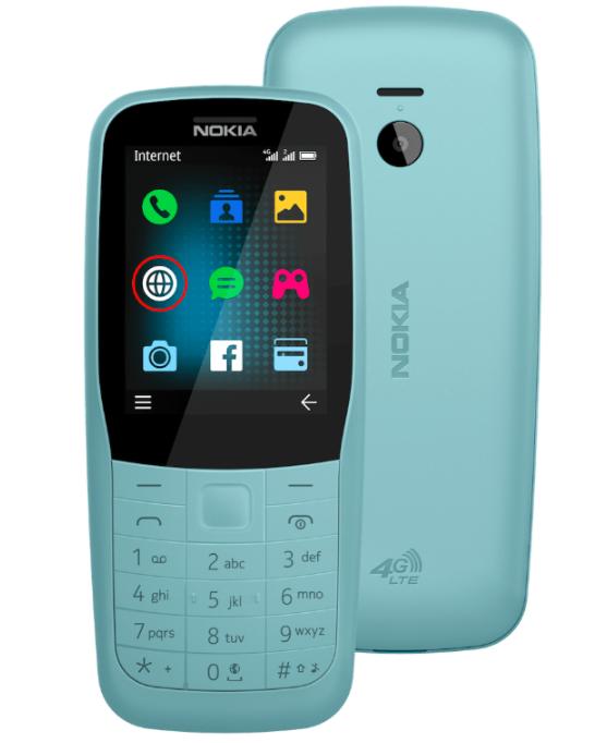 Nokia 220 4G на рендере