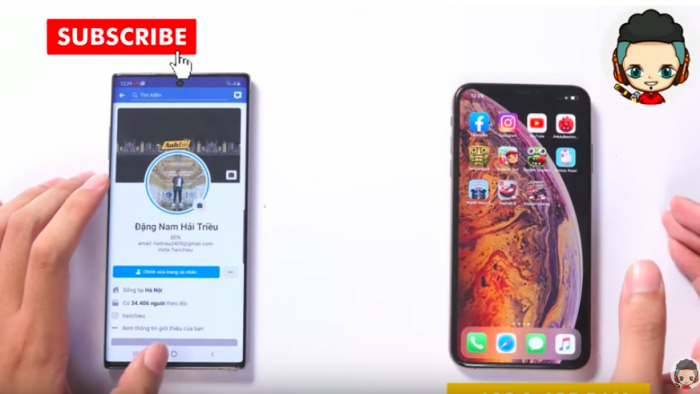 Samsung Galaxy Note 10 против iPhone XS Max: тест