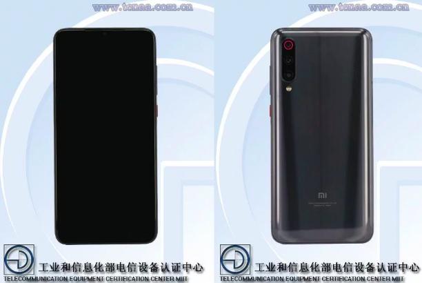 рендер смартфона Xiaomi Mi 9S