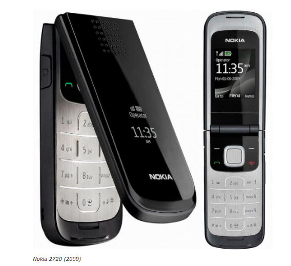 HMD Global возродит телефон-раскладушку Nokia 2720