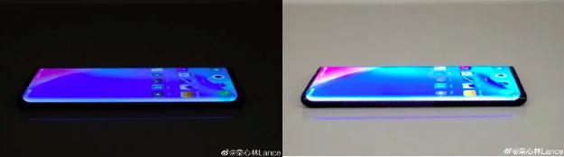 Снимок Vivo NEX 3 демонстрирует дисплей-водопад