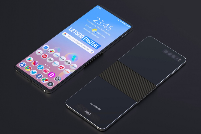 Таким может быть Samsung Galaxy Fold 2 – фото 1
