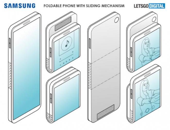 Таким может быть Samsung Galaxy Fold 2 – фото 3
