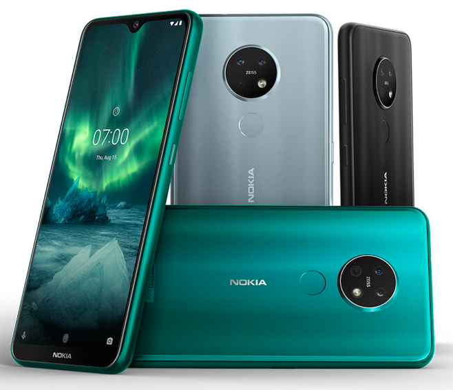 Представлены Nokia 6.2 и Nokia 7.2: новый средний класс с круглой камерой