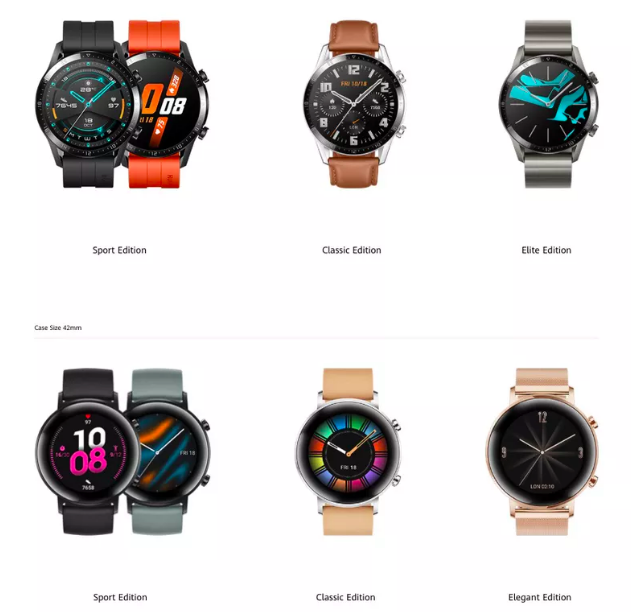 Анонс смарт-часов Huawei Watch GT 2 на Kirin A1 с LiteOS