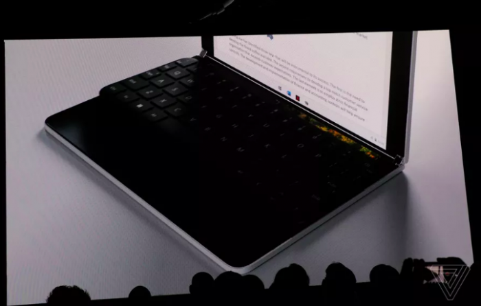 Анонс Microsoft Surface Neo: складной планшет с двумя дисплеями