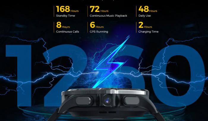 Kospet Prime — смарт-часы с автономностью до 7 дней и Face Unlock со скидкой на Gearbest – фото 2