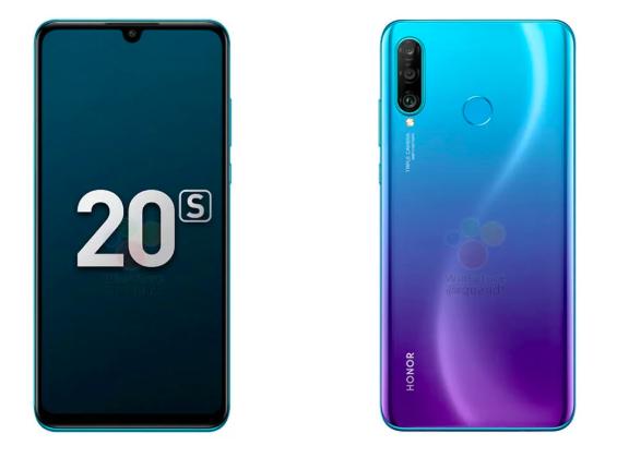 Европейский Honor 20S будет отличаться от китайской версии