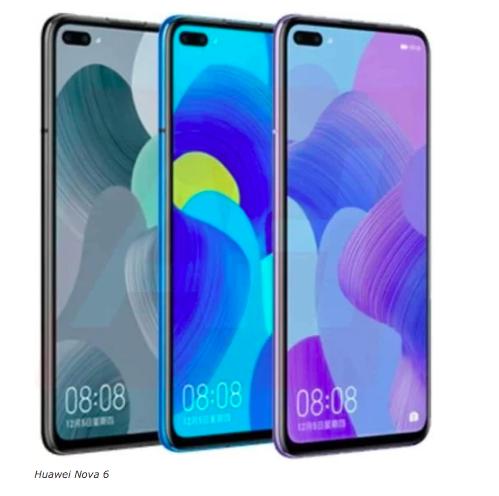 Новые подробности о Huawei Nova 6 – фото 1