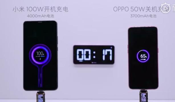 Будущие смартфоны Xiaomi получат быструю 100-ваттную зарядку и два аккумулятора
