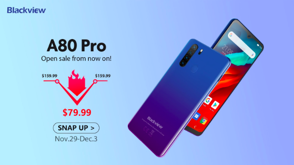 Blackview A80 Pro доступен по рекордно низкой цене – 79.99 долларов США! – фото 1