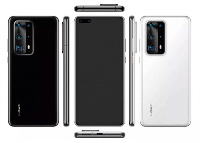 Дата анонса и рендер Huawei P40 Pro от авторитетного инсайдера